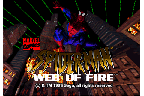 Spider-Man: Web of Fire -The 32X Database