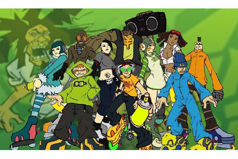 Jet Set Radio preview