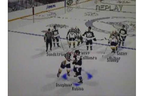 NHL FaceOff 2000 Tournament 16 Part 6 - YouTube