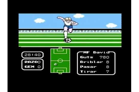 [NES] Tecmo Cup Football Game (Gameplay) Español 1/2 - YouTube