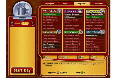 Coffee Tycoon : Free Online Games - www.freeworldgroup.com