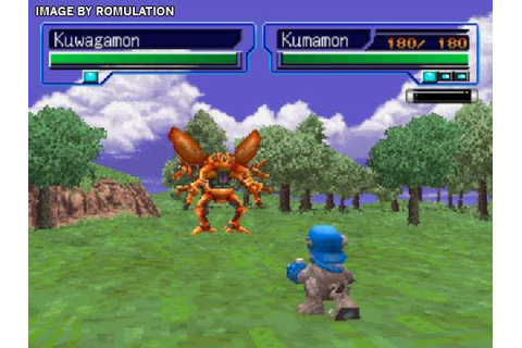 Digimon World 2003 (Europe) PSX / Sony PlayStation ISO ...
