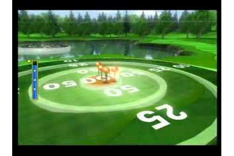 Wii Sports Golf Target Practice 950 points - YouTube