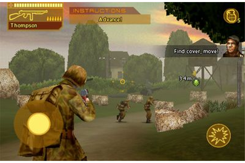 Brothers In Arms: Hour of Heroes iPhone game - free ...