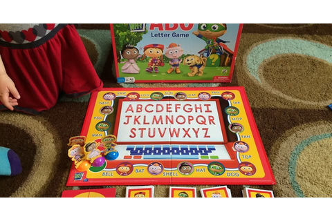 Thoughts of Fluff: Super Why! ABC Letter Game (review)