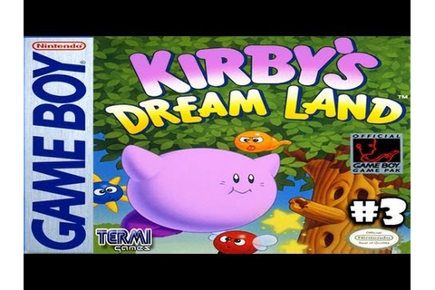 "(PINKY) ""KIRBY'S DREAM LAND"" #3 (GB gameplay) - YouTube"