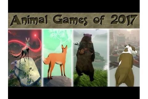 Animal Games of 2017 and Beyond - YouTube