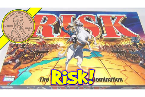 Risk The Game Of Global Domination Board Game, 1998 Parker ...
