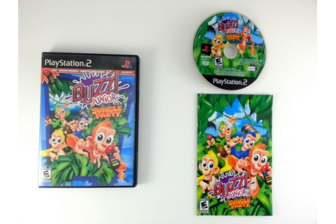 Buzz Junior Jungle Party game for Playstation 2 (Complete ...