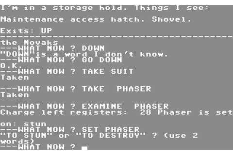Strange Odyssey (1983) by Adventure International C64 game