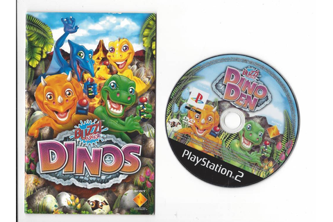 Buzz Junior Dinos (Dino Den) for Playstation 2 PS2 ...