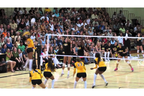 Long Beach State Women's Volleyball 2012 Alumni Game - YouTube