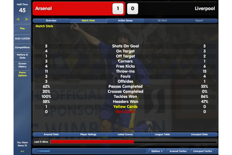 Championship Manager: Season 03/04 - Old Games Download