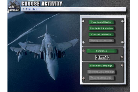 Jane's Fighters Anthology Download (1998 Simulation Game)