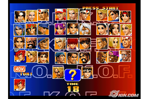 The king of fighters 97,98,99 game free download for pc ...
