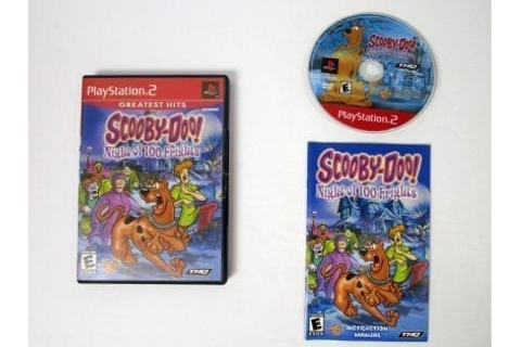 Scooby Doo Night of 100 Frights game for Playstation 2 ...