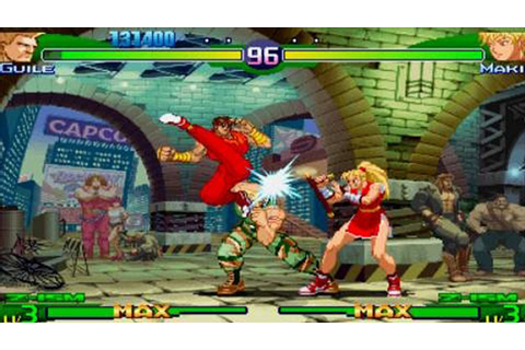 Street Fighter Alpha 3 MAX Game | PSP - PlayStation