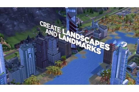 SimCity BuildIt | Landscapes Update - YouTube