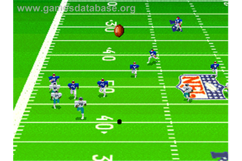 Madden NFL '95 - Nintendo SNES - Games Database