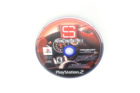 Driving Emotion Type-S game for Sony Playstation 2 PS2 ...
