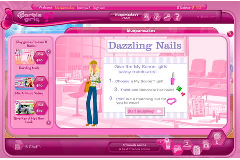 Amazon.com: Barbie Girls MP3 Player - Pink: Toys & Games