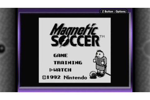 CGR Undertow - MAGNETIC SOCCER review for Game Boy - YouTube