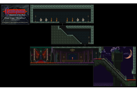 Revned's Video Game Maps - Castlevania: Symphony of the Night