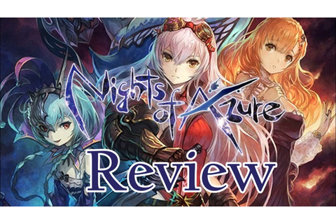 Nights of Azure | PS4 Review | r3dplaystation