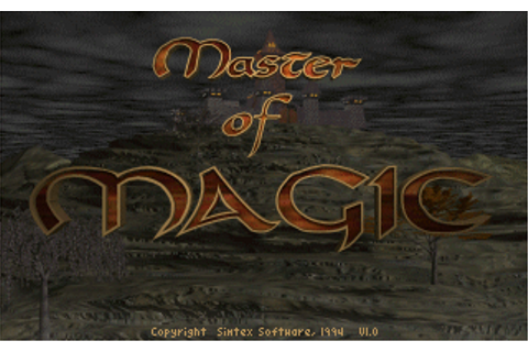 GAMES:Master of Magic - DOSBoxWiki