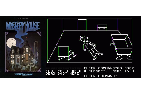 Mystery House Apple II