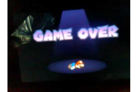 Paper Mario Sticker star instant game over - YouTube