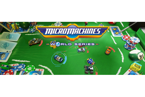 First Micro Machines World Series gameplay trailer ...