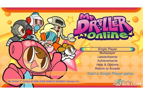 Mr. Driller Online Review - IGN