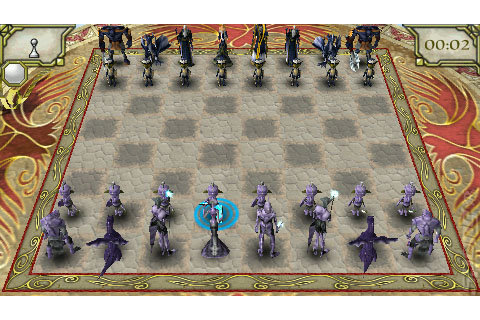 Screens: Online Chess Kingdoms - PSP (4 of 13)