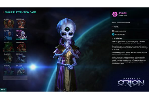 Master of Orion trailer shows off two races and first ...
