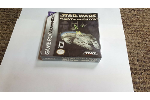 Star Wars: Flight of the Falcon (Game Boy Advance ...
