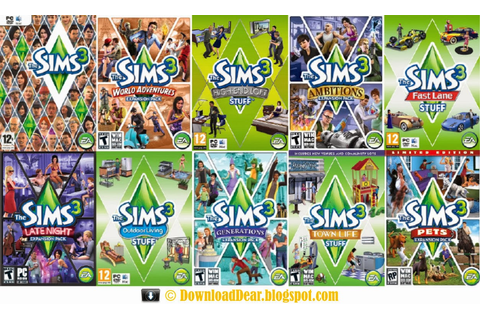 the sims 3 expansion packs stuff packs make the sims 3 original game