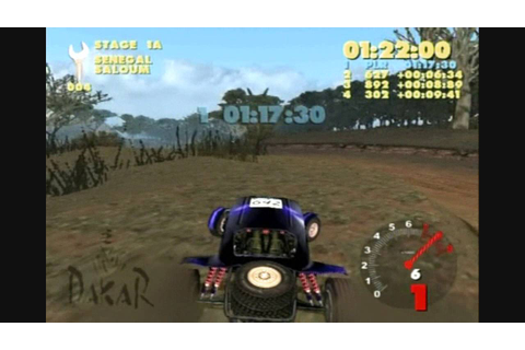 Paris Dakar Rally Review (PS2) - YouTube