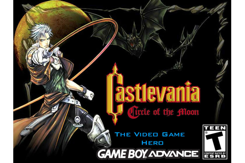 Video Game Hero: Castlevania: Circle of the Moon by ...