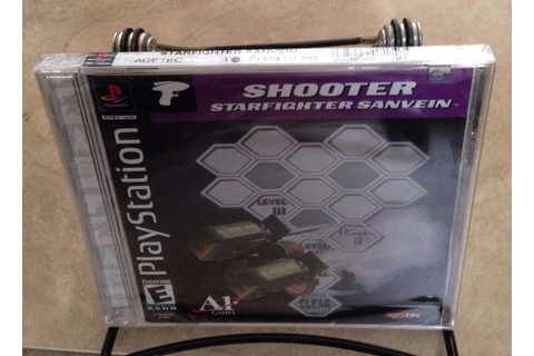 Shooter Star fighter Sanvein NEW factory sealed ...