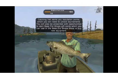 Let's play Bass Pro Shops: The Strike (fishing PC game on ...