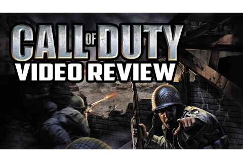Call of Duty PC Game Review - YouTube