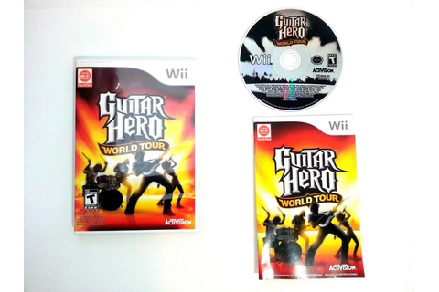 Guitar Hero World Tour (game only) game for Wii (Complete ...