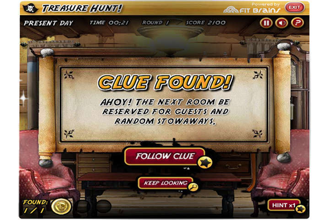 Treasure Hunt Online Free Game | GameHouse