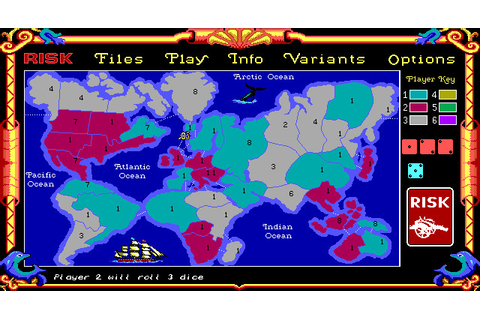 The Computer Edition of Risk: The World Conquest Game ...