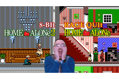 Home Alone Games | 8-Bit Rage Quit - YouTube