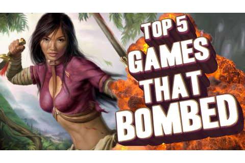 Top 5 - Good games that bombed commercially - YouTube