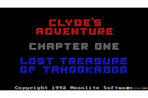 Clyde's Adventure gameplay (PC Game, 1992) - YouTube