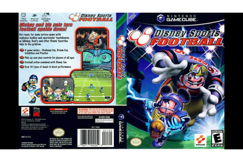 Disney Sports: Football (Nintendo GameCube) - YouTube