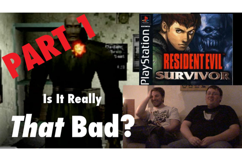 Resident Evil Survivor (PS1) | Is It Really That Bad? Pt 1 ...